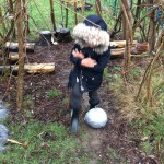 We heard knocking on our window  and some very strange  noises coming from the outside area. We put our coats on and went outside to investigate. To our surprise we found a huge dinosaur egg which we very carefully brought into our classroom. We are now looking after it and keeping it warm. Please talk to your child about the egg we think it belongs to a dinosaur.