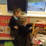 We know we can find out about dinosaurs from our information books.